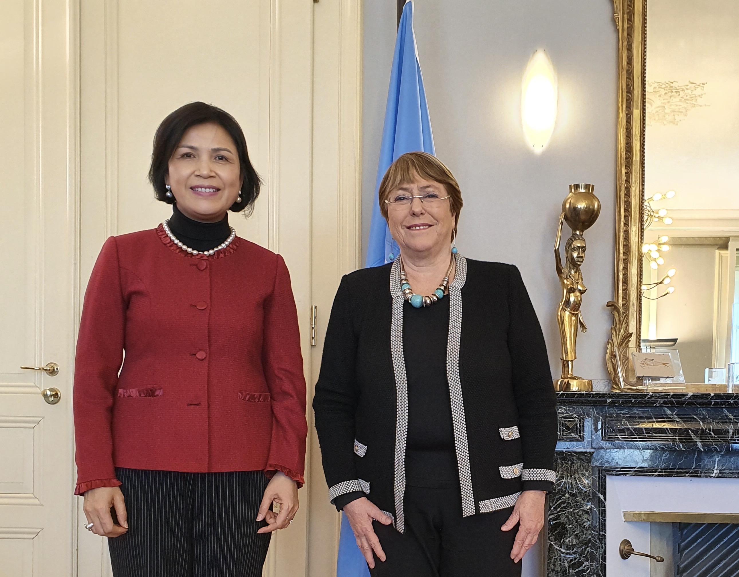 Cao ủy Nhân quyền LHQ đánh giá cao thành tựu của Việt Nam trong thúc đẩy và bảo vệ quyền con người