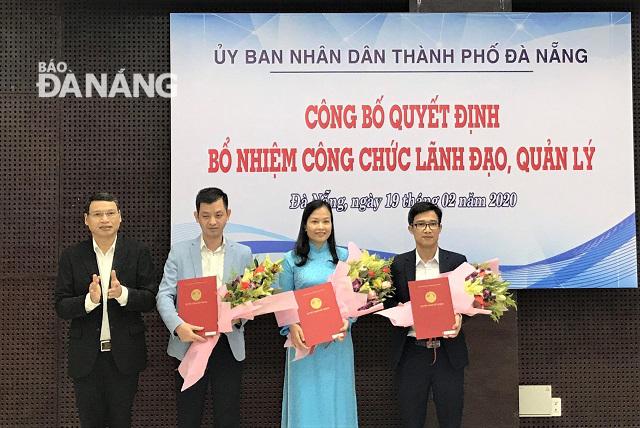 Đà Nẵng bổ nhiệm nhiều nhân sự mới cấp sở ngành