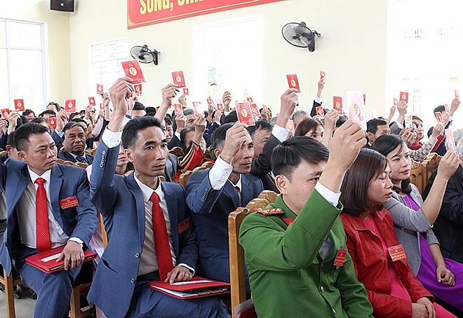 Yên Bái tổ chức đại hội điểm Đảng bộ cấp cơ sở nhiệm kỳ 2020 – 2025