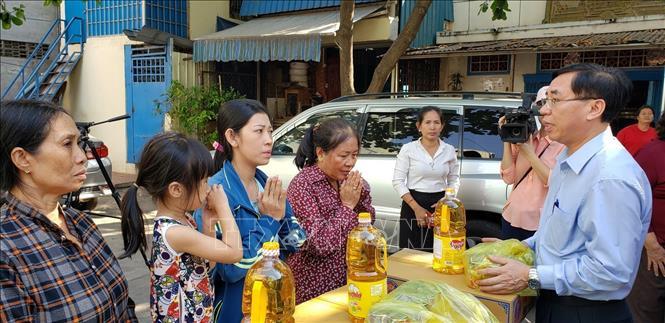 Chia sẻ thiệt hại vụ cháy tại trường Tiểu học Samaky Tân Tiến tại Campuchia