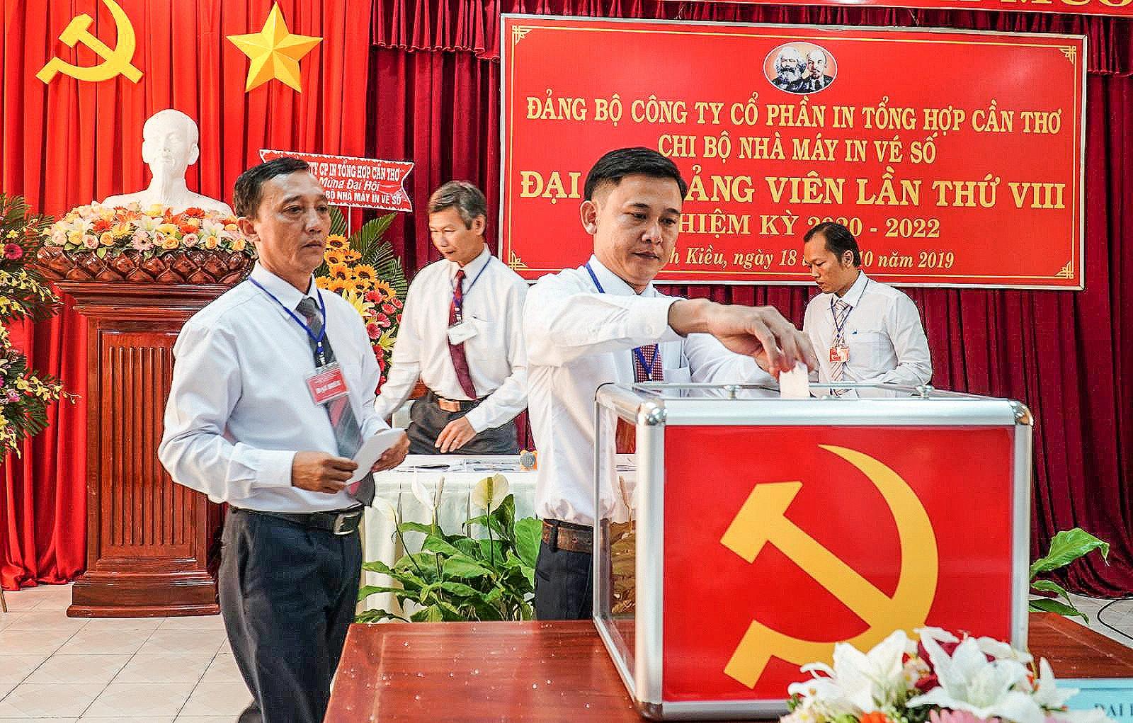 Đảm bảo công tác nhân sự ủy ban kiểm tra tại đại hội đảng bộ các cấp