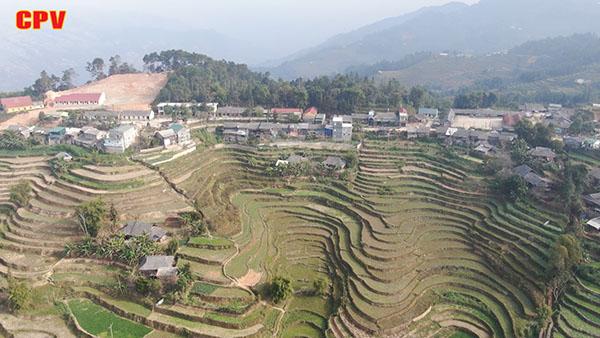 Xín Mần Hà Giang  Sát nhập xã Ngán Chiên vào xã Trung Thịnh