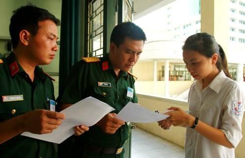 Các trường quân đội công bố chỉ tiêu năm 2020