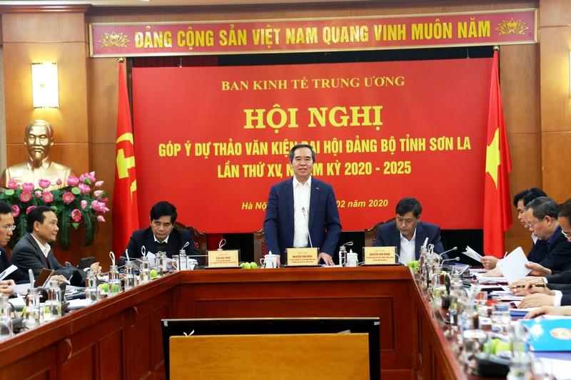 Góp ý dự thảo văn kiện Đại hội Đảng bộ tỉnh Sơn La lần thứ XV