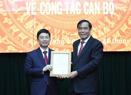 Đồng chí Nguyễn Duy Hưng giữ chức Phó Bí thư Thường trực Tỉnh ủy Hưng Yên
