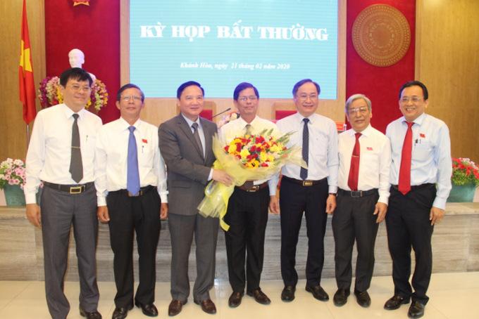 Đồng chí Nguyễn Tấn Tuân giữ chức Chủ tịch UBND tỉnh Khánh Hòa