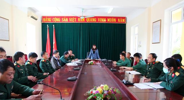 Quảng Ninh Tập huấn phòng, chống dịch Covid-19 cho cán bộ, chiến sĩ làm nhiệm vụ cách ly