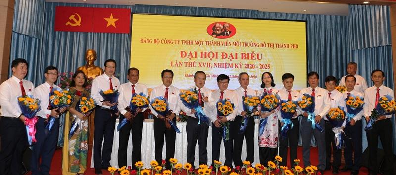 Đại hội đại biểu Đảng bộ Công ty TNHH MTV Môi trường đô thị TP Hồ Chí Minh, nhiệm kỳ 2020- 2025
