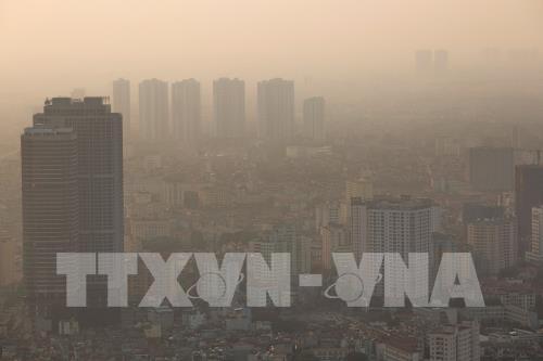 Miền Bắc tiếp diễn tình trạng ô nhiễm không khí