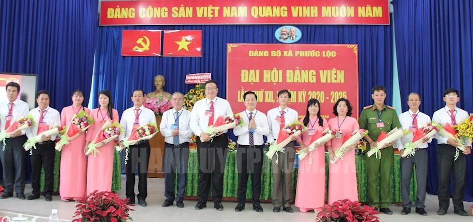 Đại hội đại biểu Đảng bộ xã Phước Lộc, nhiệm kỳ 2020-2025