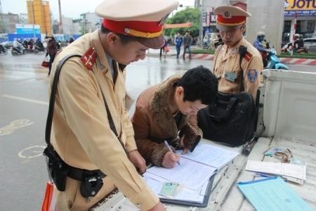 3 ngày xử lý gần 12 nghìn người vi phạm trật tự an toàn giao thông đường bộ