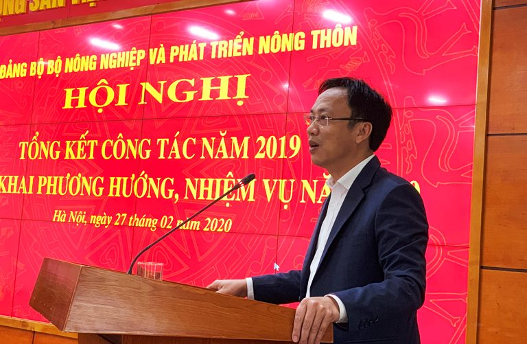Bộ NN PTNT Tập trung thực hiện toàn diện công tác xây dựng Đảng năm 2020