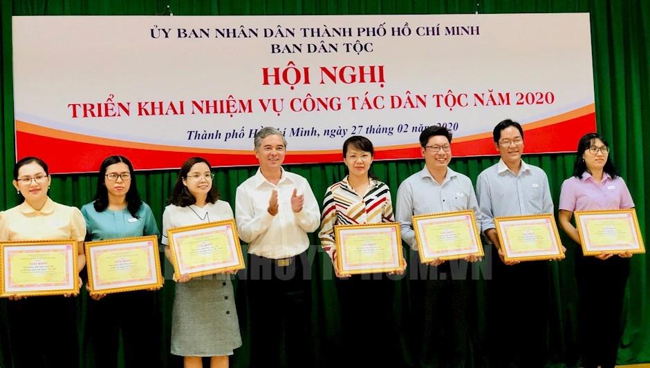 TP Hồ Chí Minh Thực hiện hiệu quả chính sách dân tộc