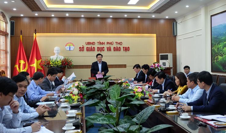 Phú Thọ Chú trọng chuẩn bị các điều kiện triển khai chương trình GDPT mới