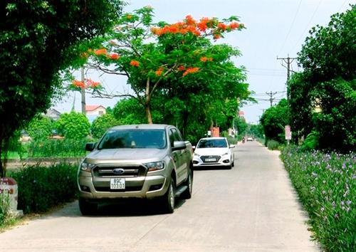 Văn Giang tiếp tục mục tiêu xây dựng xã nông thôn mới nâng cao