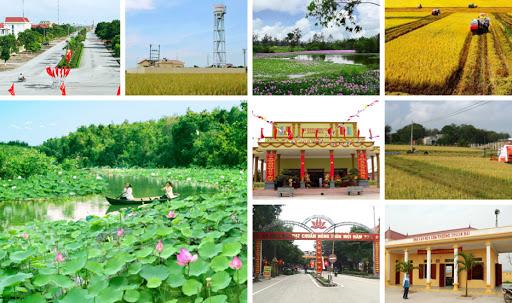Hai huyện của tỉnh Thái Bình đạt chuẩn nông thôn mới  