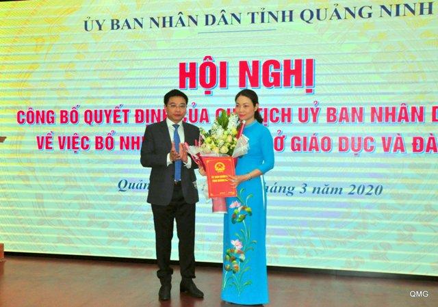Quảng Ninh Bổ nhiệm Giám đốc Sở Giáo dục và Đào tạo