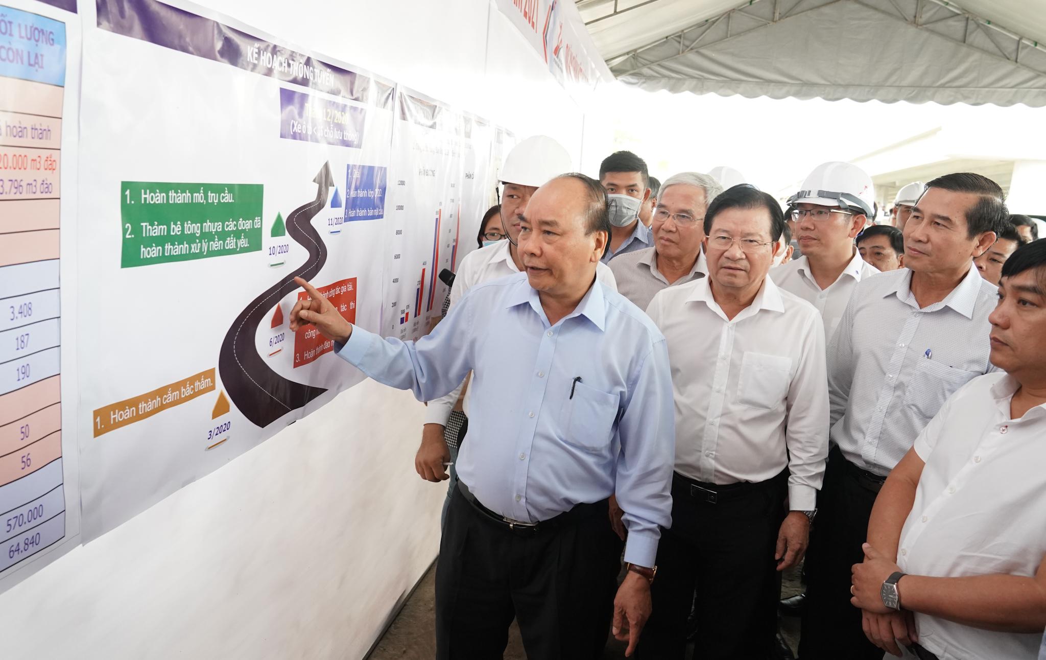Năm 2021 sẽ khánh thành toàn tuyến Trung Lương - Mỹ Thuận