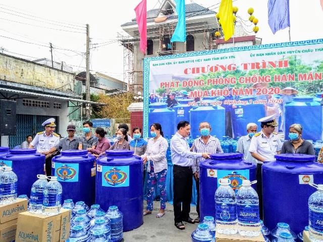 """Bến Tre tổ chức """"Phát động phòng chống hạn mặn mùa khô năm 2020"""""""