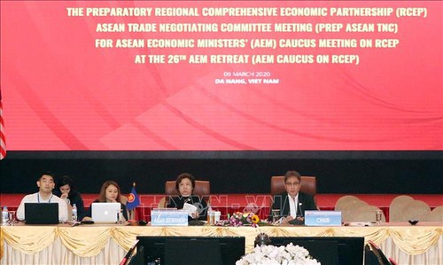 Phiên họp của Ủy ban Đàm phán Thương mại Hiệp định Đối tác kinh tế toàn diện khu vực RCEP ASEAN