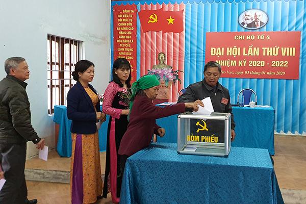 Xử lý kỷ luật đối với đảng viên vi phạm các quy định về bầu cử