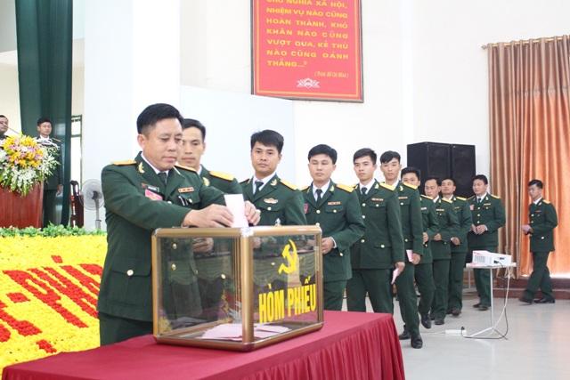 Trung đoàn 1 Sư đoàn 324 tổ chức thành công Đại hội Đảng lần thứ XXI