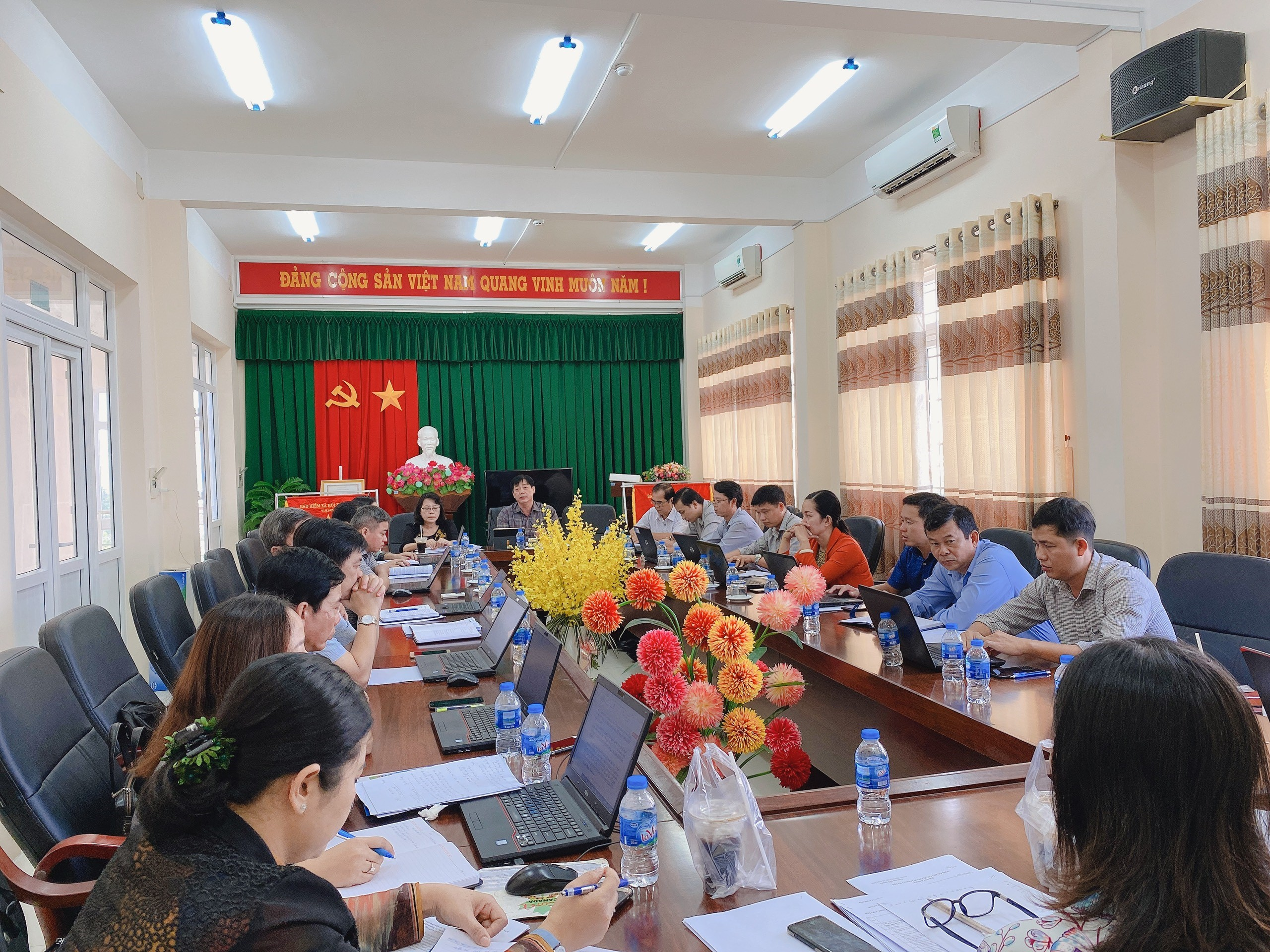 BHXH tỉnh Hậu Giang Giao ban công tác tháng 2 và triển khai nhiệm vụ công tác tháng 3 năm 2020