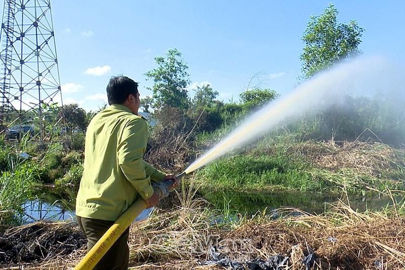 Cà Mau Gần 35 nghìn ha rừng nằm trong vùng báo cháy cấp V