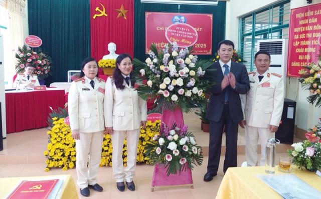 Đại hội điểm Chi bộ Viện KSND huyện Vân Đồn, Quảng Ninh