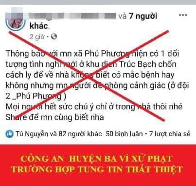 Hà Nội đề nghị báo chí phản bác thông tin sai lệch về dịch bệnh