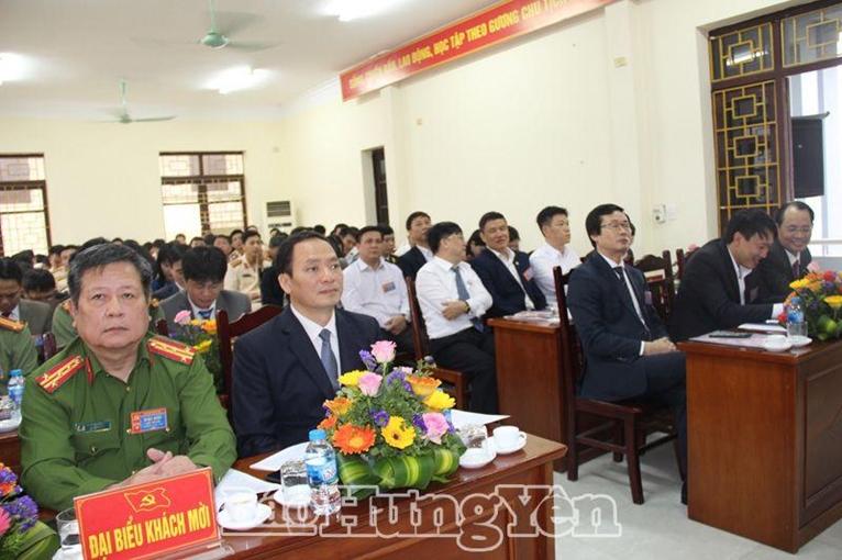 Hưng Yên Nhiều đảng bộ tổ chức thành công đại hội