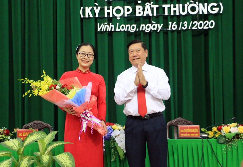 Vĩnh Long Giám đốc Sở GD ĐT được bầu làm Phó Chủ tịch UBND tỉnh