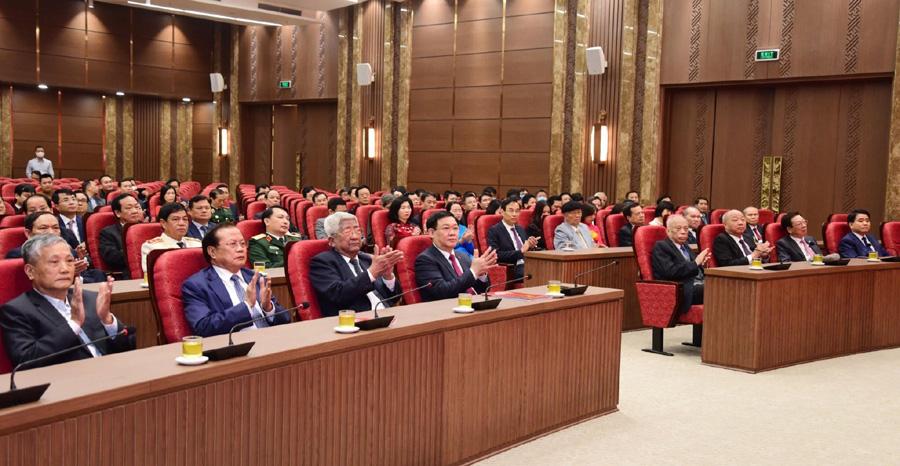 Hà Nội gặp mặt nhân kỷ niệm 90 năm thành lập Đảng bộ Thành phố