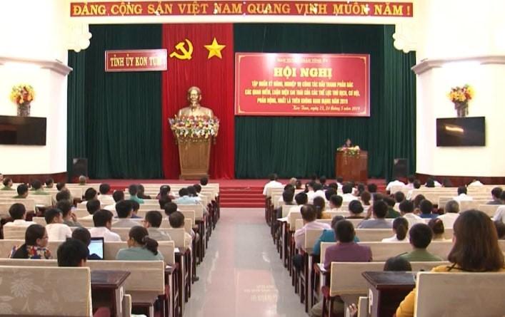 Kon Tum Mỗi đảng viên có trách nhiệm bảo vệ nền tảng tư tưởng của Đảng