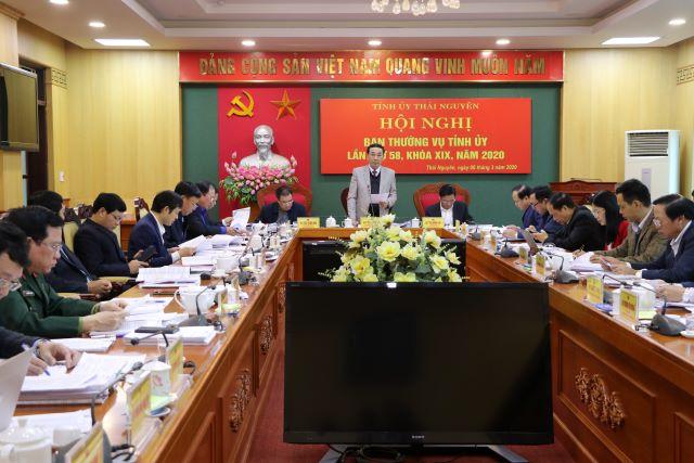 Thái Nguyên Thảo luận16 nội dung về công tác xây dựng Đảng