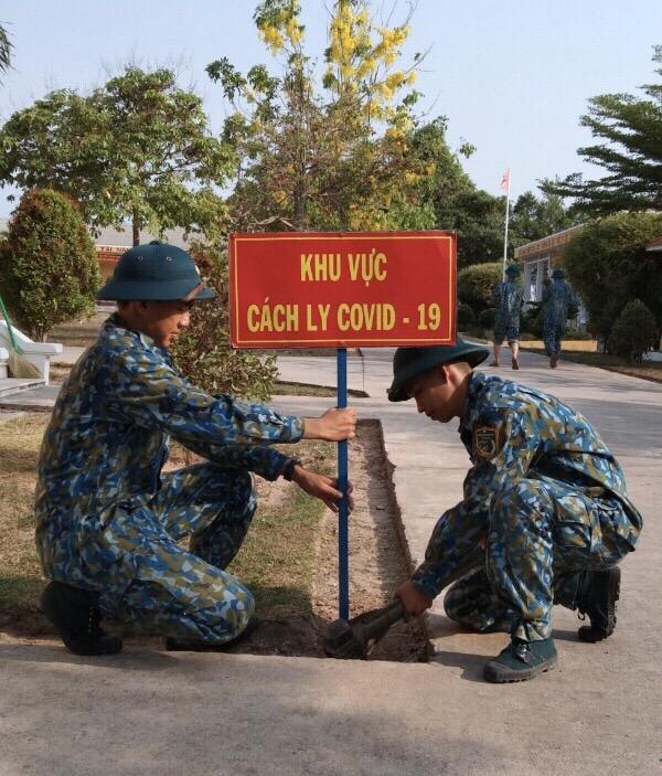 Sư đoàn 367 sẵn sàng hai điểm tiếp nhận cách ly, phòng chống dịch covid 19