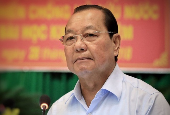 Cách chức Bí thư Thành uỷ TP Hồ Chí Minh nhiệm kỳ 2010 - 2015