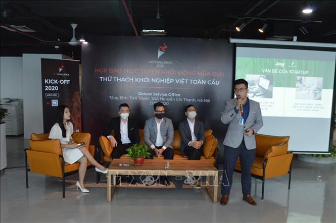 Phát động Cuộc thi khởi nghiệp toàn cầu VietChallenge mùa thứ 5 năm 2020