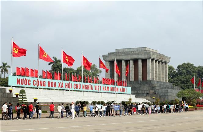 Tạm dừng tổ chức lễ viếng Chủ tịch Hồ Chí Minh từ ngày 23 3