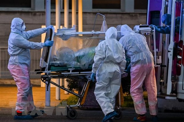 Dịch viêm đường hô hấp cấp COVID-19 Tổng số ca nhiễm trên toàn cầu vượt 300 000 người