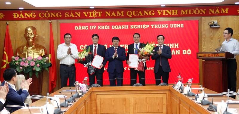 Chỉ định 2 Ủy viên Ban Chấp hành Đảng bộ Khối Doanh nghiệp Trung ương