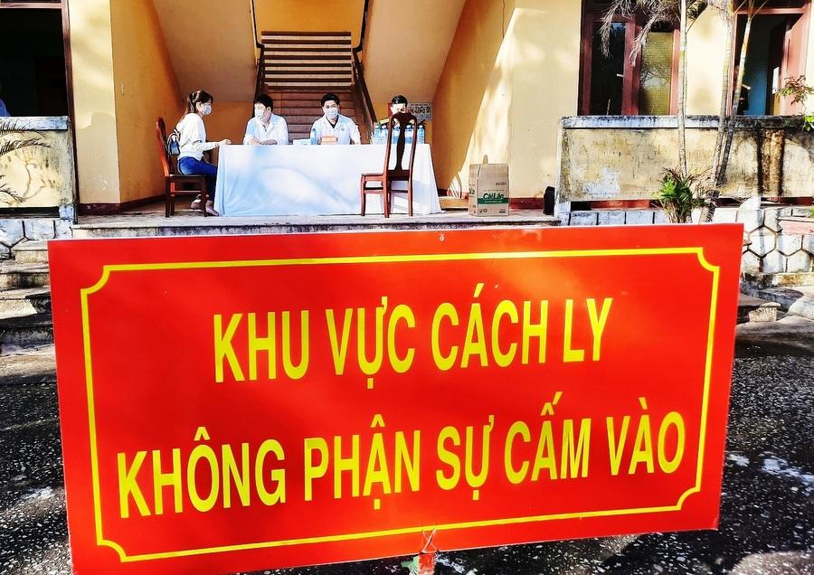 Quảng Nam triển khai 34 khu cách ly tập trung với sức chứa hơn 3 000 người