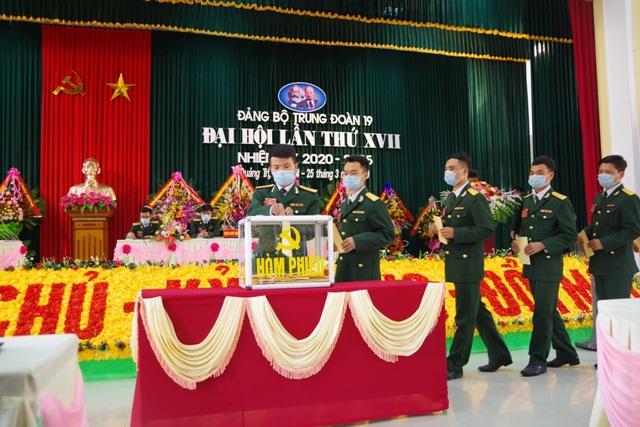 Đại hội Đảng bộ Trung đoàn 19 lần thứ XVII, nhiệm kỳ 2020-2025