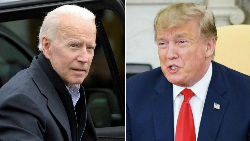 Bầu cử Mỹ Ông Joe Biden vượt qua ông Trump tại một cuộc thăm dò
