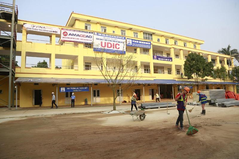 Bệnh viện dã chiến Mê Linh sẵn sàng tiếp nhận bệnh nhân Covid-19