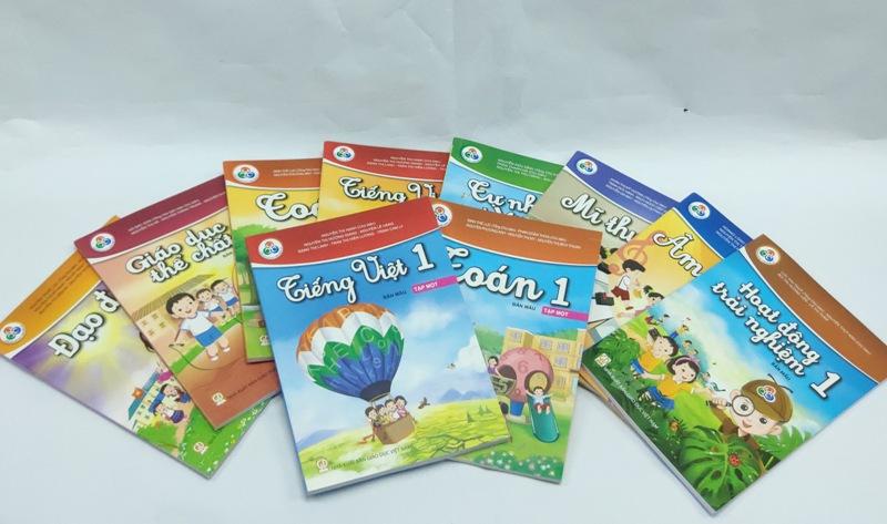 Công bố giá bán sách giáo khoa lớp 1