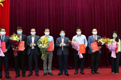 Bộ Giao thông Vận tải bổ nhiệm nhiều lãnh đạo cấp Vụ