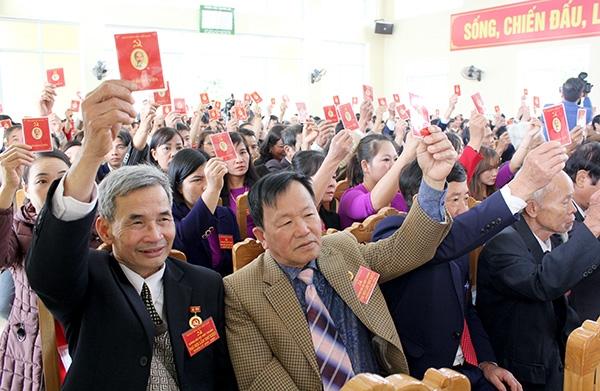Yên Bái Chuẩn bị chu đáo, tổ chức thành công đại hội đảng cấp cơ sở