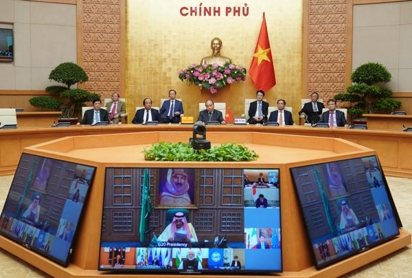 Thủ tướng khẳng định quyết tâm, cam kết của Việt Nam trong chống dịch COVID-19