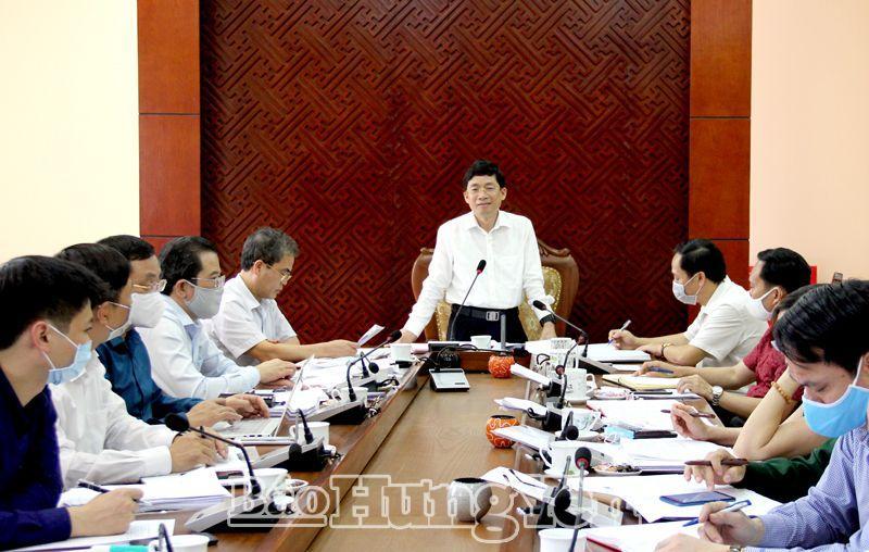 Hưng Yên bảo đảm tổ chức thành công Đại hội Đảng bộ các cấp
